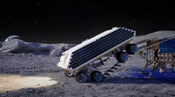 معدنچیهای فضایی ممکن است از پرتابگرها برای برداشت یخ آب در ماه استفاده کنند