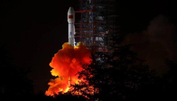 ماهواره نظامی چین