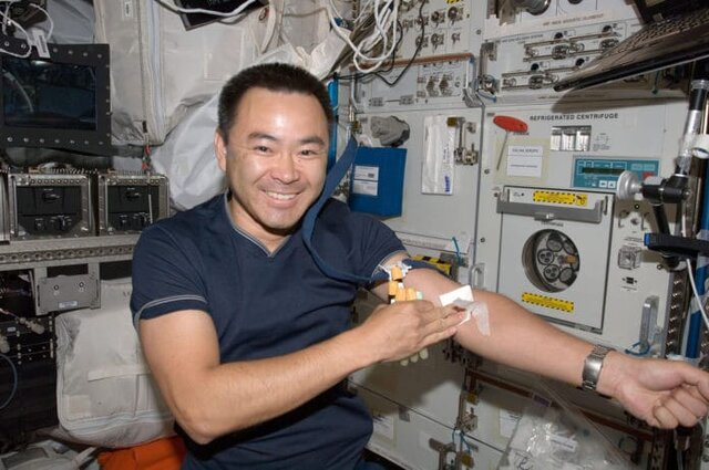 Effects of space radiation on astronauts