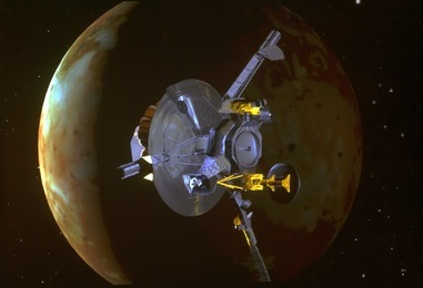 Galileo encounter with Io