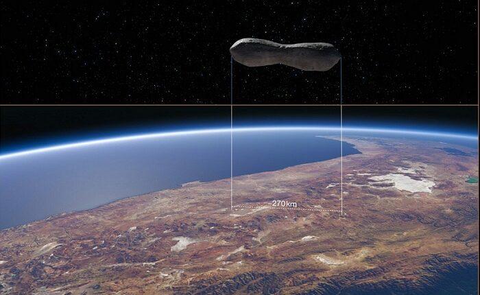تصاویر سیارکی که به استخوان سگ شبیه است!