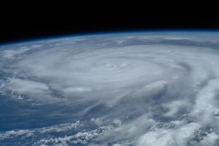 Hurricane Ida from space