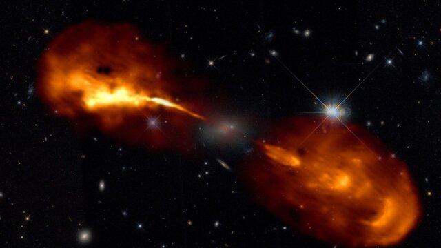 ثبت دقیقترین تصویر از اعماق فضا با امواج رادیویی افام
