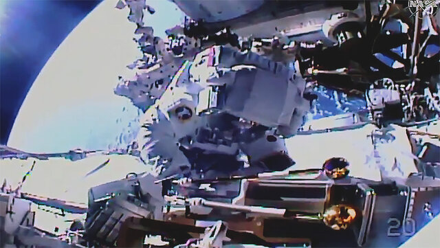 first spacewalk was conducted without the presence of American and Russian