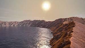 خشکی مریخ